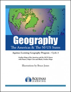 Geography, The Americas & The 50 US States