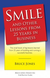 Smile and Other Lessons Learned from 25 Years in Business