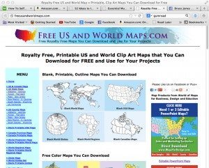 Free US and World Maps.com