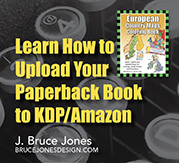 Learn how to upload your paperback book to kdp/amazon