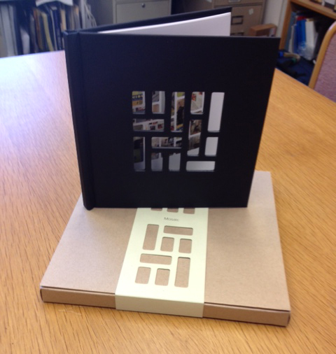 The Mosaic book comes in this cool box.
