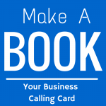 make a book your business calling card