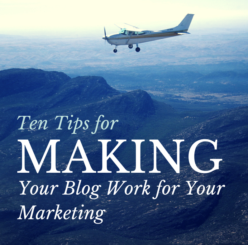 Making Blogs Work for Your Business
