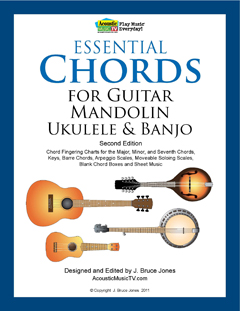Essential Chords for Guitar, Mandolin, Ukulele and Banjo