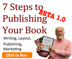 7 steps to publishing your book