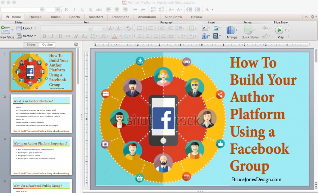 Building Your Platform Using a Facebook Group