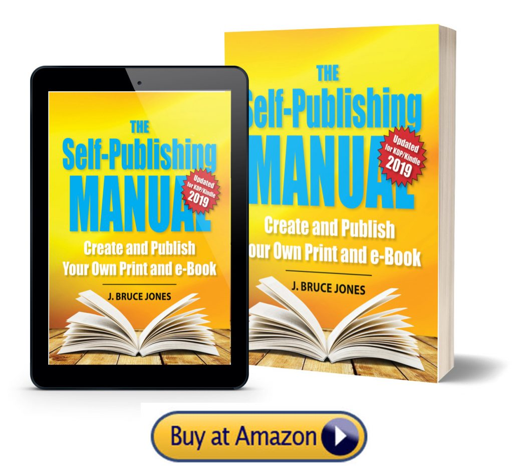 Self-Publish manual buy from Amazon