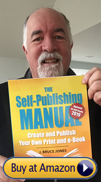 Bruce with the Self-Publishing Manual