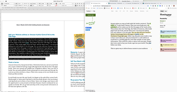 editing apps I use to edit my book