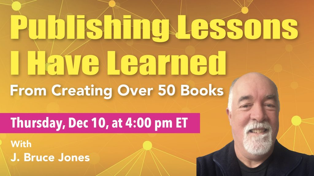 publishing lessons I have learned from creating over 50 books