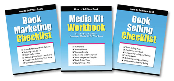Book Marketing checklist and worksheets