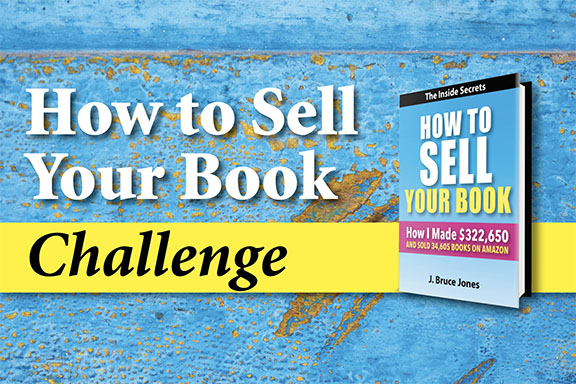 How to Sell Your Book Challenge Blog Post