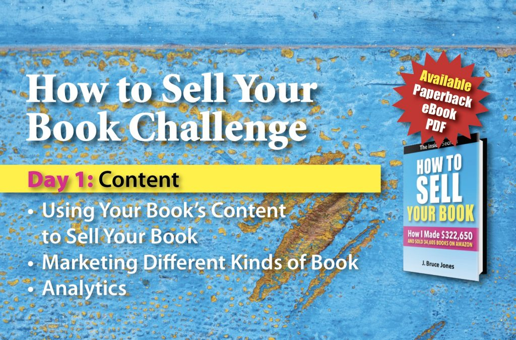 How to Sell Your Book, Using Your book's content to sell your book