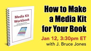 how to make a media kit for your book