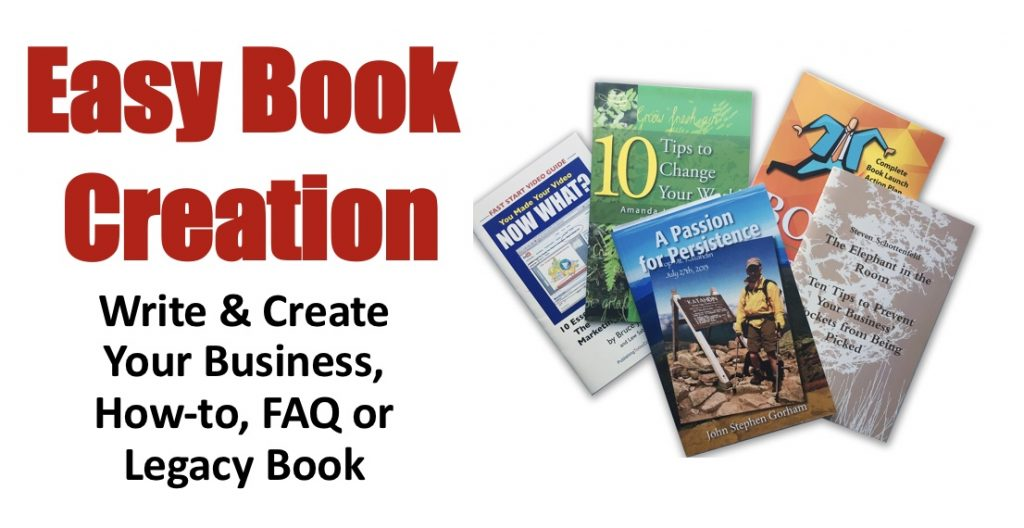 easy book creation, write and create your book