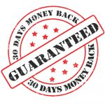 Money back guaranteed seal